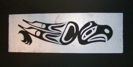 Eagle's Journey (in black)